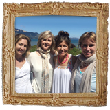 Portrait: Kristin, Kirsten, Renee and Kimberly